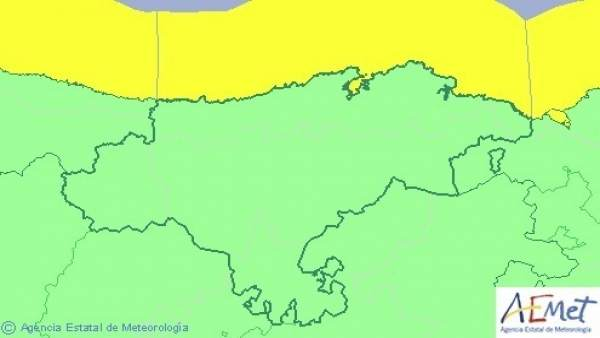 Aviso por oleaje en Cantabria esta sábado