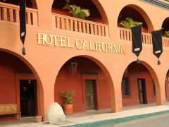 La imagen del Hotel California