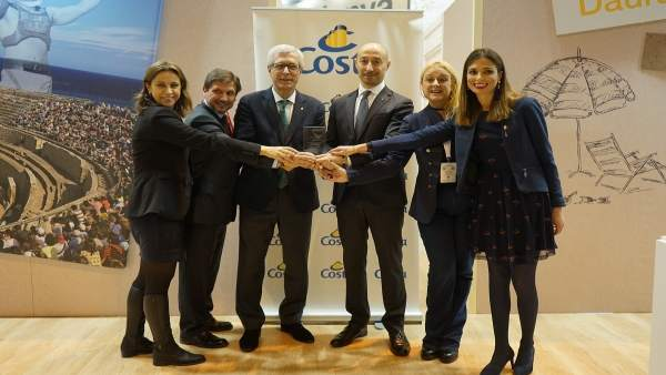 Costa Cruceros premia a Tarragona Cruise Port Costa Daurada