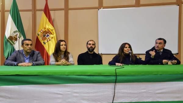 Charla de delegadas territoriales en Puerto Real