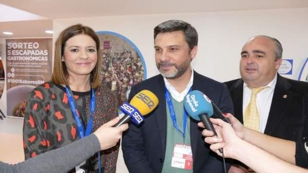 El portavoz del Grupo Parlamentario Socialista, Joaquín López Pagán