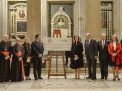 La nueva iluminación de Santa María la Mayor de Roma