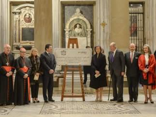 Nueva iluminación de Santa María la Mayor