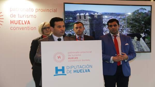Presentación de la provincia de Huelva en Fitur.