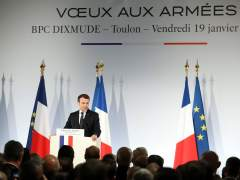Macron confirma que restablecerá un servicio militar obligatorio