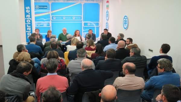 'El Partido Popular Ofrece A Los Riojanos Seguridad Y Confianza'