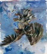Georg Baselitz, Finger Painting—Eagle, 1972