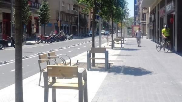 Pacificación de la calle Roc Boronat