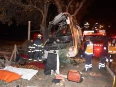 Once muertos en un accidente de autobús en Turquía