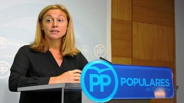 La diputada del PP Cristina Mazas
