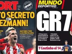 """El Barça niega contactos con Griezmann y reitera su """"respeto"""" por el Atlético"""