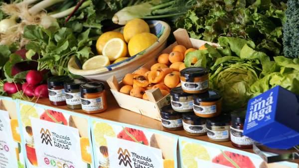 Mercado Nuestra Tierra, sabor a Málaga Coín