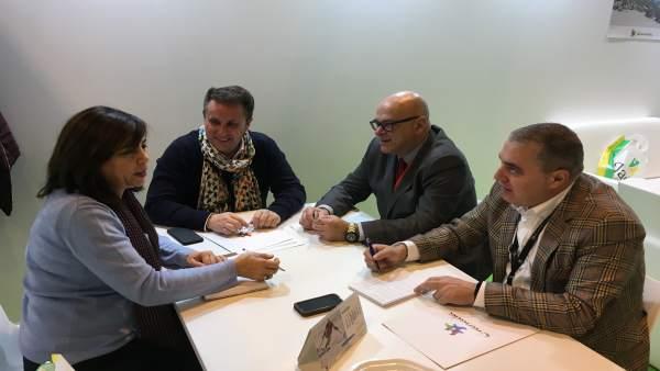 Reunión de las diputaciones de Jaén y Granada