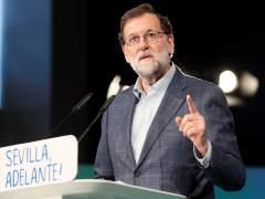 """Rajoy carga contra Ciudadanos y advierte de que si Puigdemont es investido desde Bruselas """"el 155 sigue en vigor"""""""