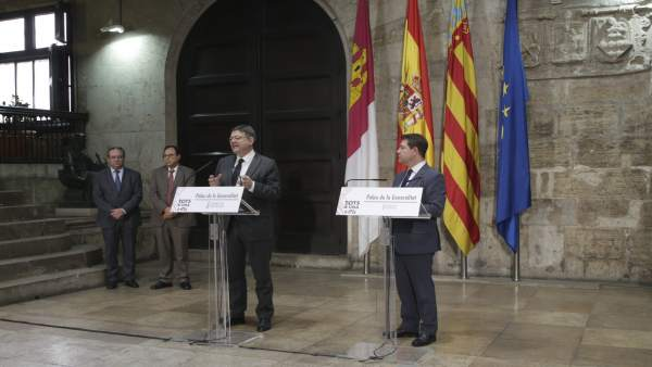 Los presidentes autonómicos, en rueda de prensa