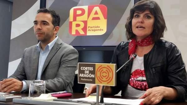 Jesús Guerrero y Elena Allué (PAR)