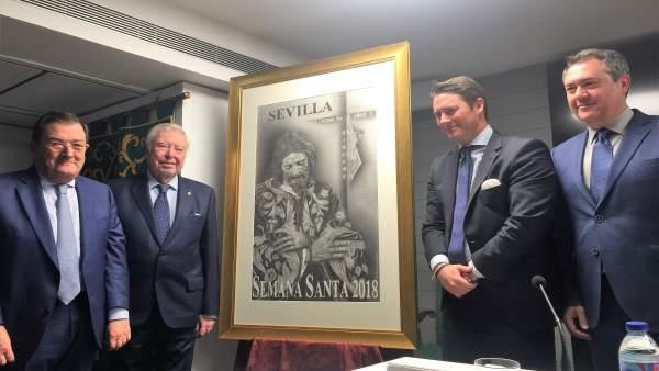 Presentación del cartel de la Semana Santa de Sevilla 2018