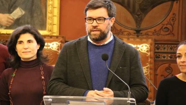 El alcalde de Palma, Antoni Noguera