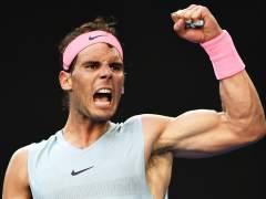 Rafa Nadal se mete en cuartos de final del Open de Australia