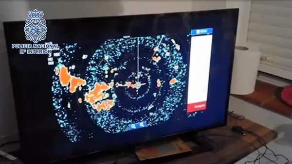 Nota De Prensa, Fotografías Y Vídeo: Desmantelado Un Sistema De Radares Utilizad