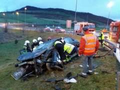 Siete fallecidos en las carreteras españolas el fin de semana