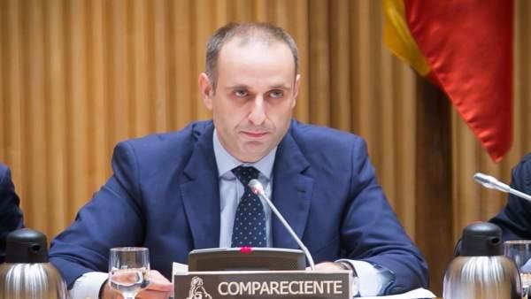 El presidente del FROB, Jaime Ponce, en la Comisión de Economía del Congreso