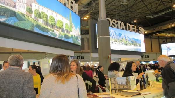 Expositor de Jaén en Fitur