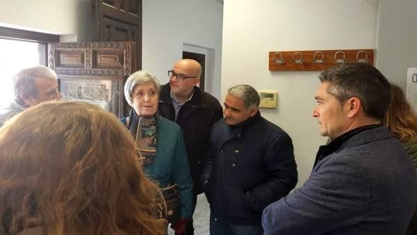 Visita de Cs al barrio Fígares de Granada
