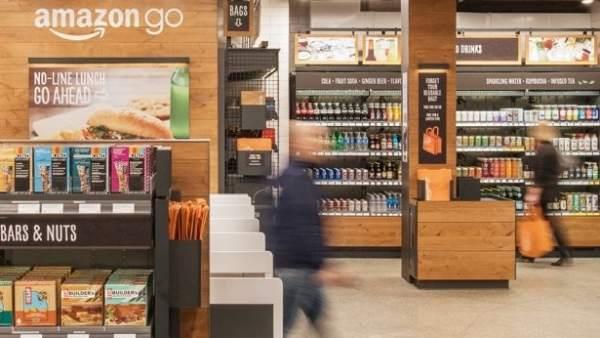 Abre Amazon Go, el supermercado sin cajeros