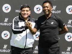 "Pelé dice que Maradona sintió ""celitos"" porque prefirió a Messi"