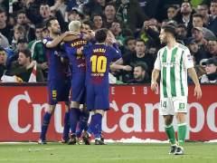 El Barça golea al Betis y sigue con paso firme hacia el título de Liga
