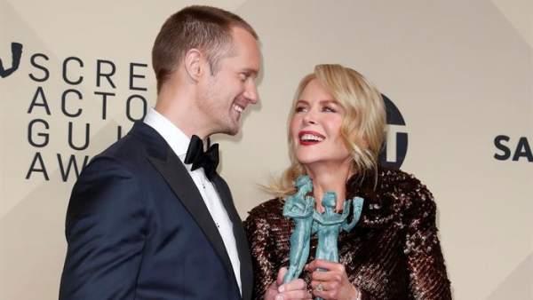 Alexander Skarsgard y Nicole Kidman