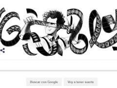 El 'doodle' de Google homenajea al director de cine ruso Serguéi Eisenstein