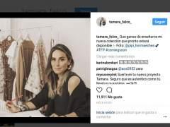Tamara Falcó se hace diseñadora... y reza por Pablo Iglesias