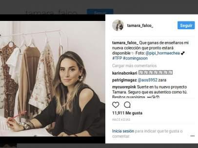 Tamara Falcó en Instagram