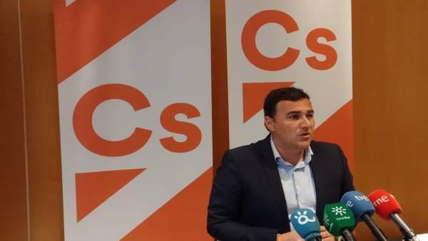 Carlos Hernández White ciudadanos CS Málaga portavoz parlamentario andaluz