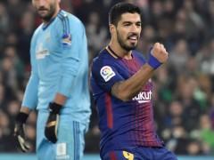 Luis Suárez, el azulgrana más rápido en llegar a los 100 goles en Liga