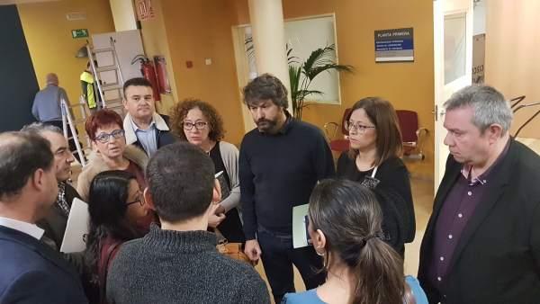 Oposición abandona la Comisión presidida por Roque Ortiz