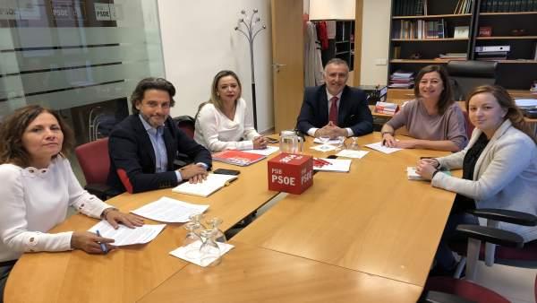 Encuentro entre Socialistas de Baleares y Canarias