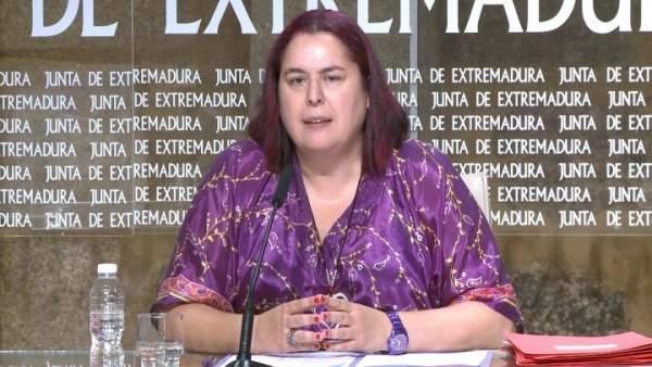 Consejera de Medio Ambiente, Begoña García Bernal