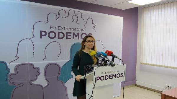 Portavoz De Podemos Extremadura, Marta Bastos