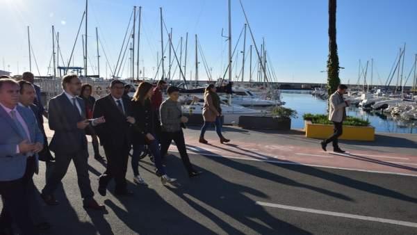 Puerto caleta Vélez-Málaga