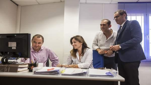La Oficina Virtual de Diputación ha aumentado sus consultas en el año 2017.