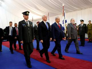 Mike Pence en Israel