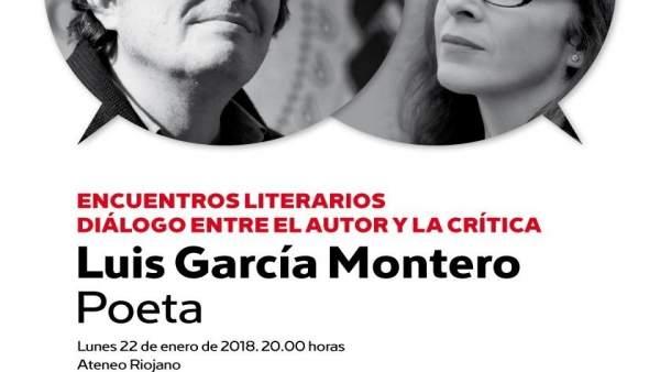 Luis García Moreno abre el ciclo de Encuentros literarios