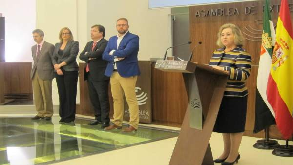 Presidenta del Consejo Económico y Social de Extremadura, Mercedes Vaquera