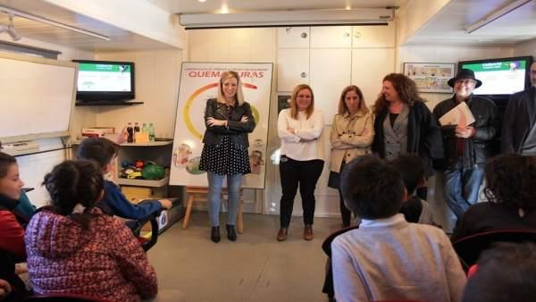 Presentacion campaña prevención málaga fuengirola alumnos accidentes