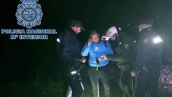 La Policía Nacional rescata en Córdoba a una persona desorientada
