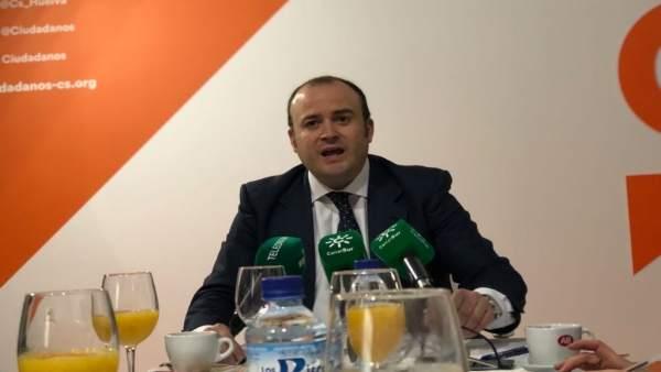 El parlamentario de Ciudadanos por Huelva, Julio Díaz.