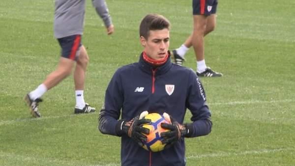 Kepa Arrizabalaga, portero del Athletic